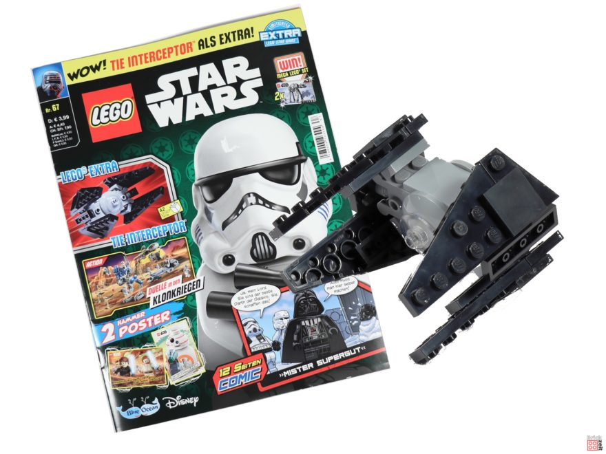 LEGO Star Wars Magazin Nr. 67 mit TIE-Interceptor| ©Brickzeit