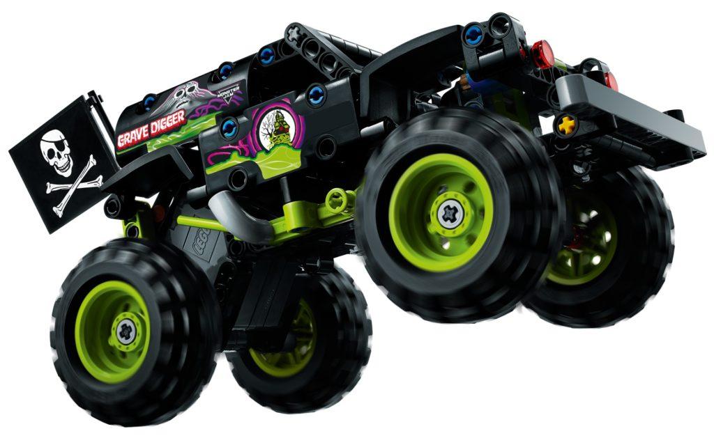LEGO Technic 42118 Monster Jam® Grave Digger®   ©LEGO Gruppe
