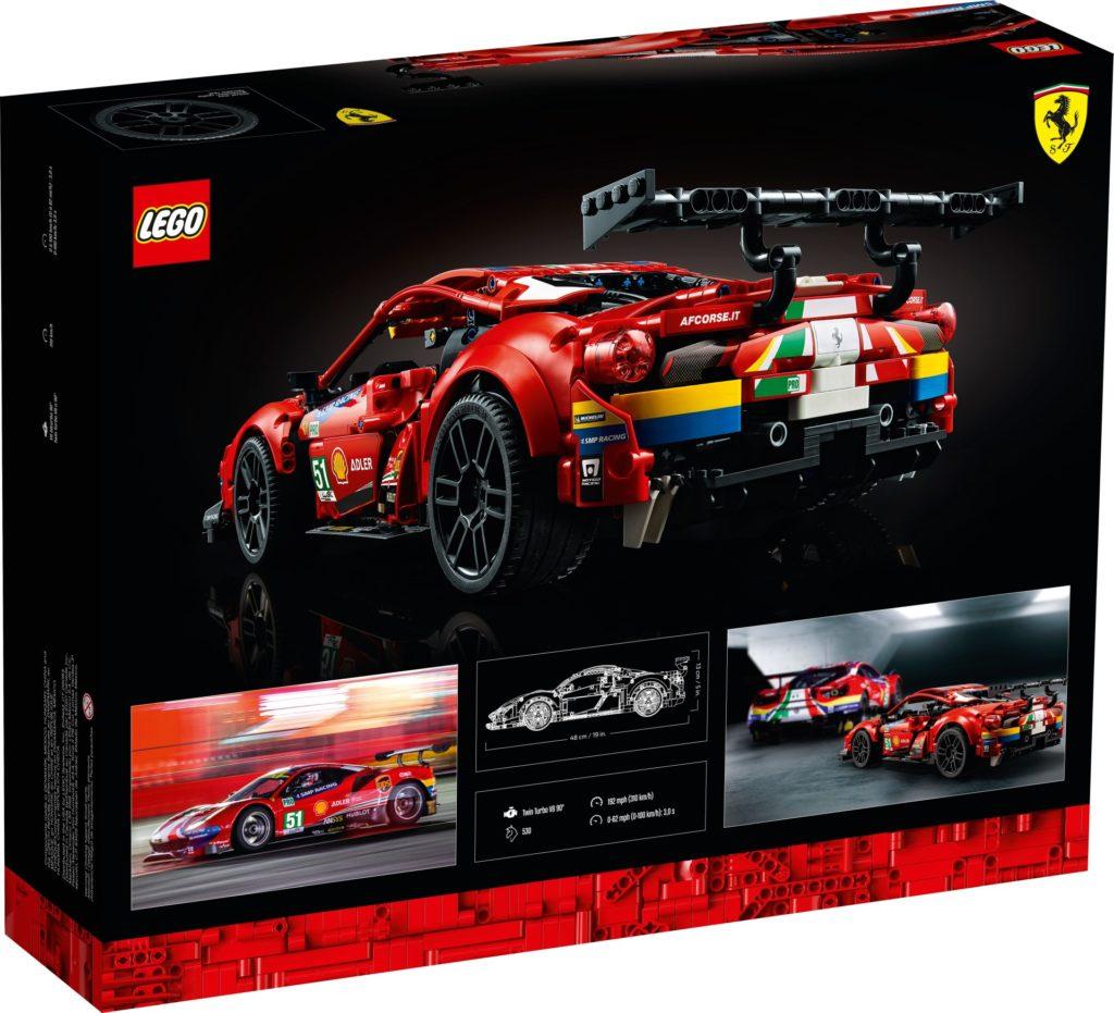 LEGO Technic 42125 Ferrari 488 GTE AF Corse #51   ©LEGO Gruppe