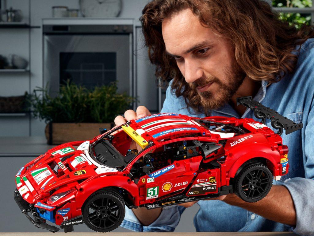 LEGO Technic 42125 Ferrari 488 GTE AF Corse #51 | ©LEGO Gruppe