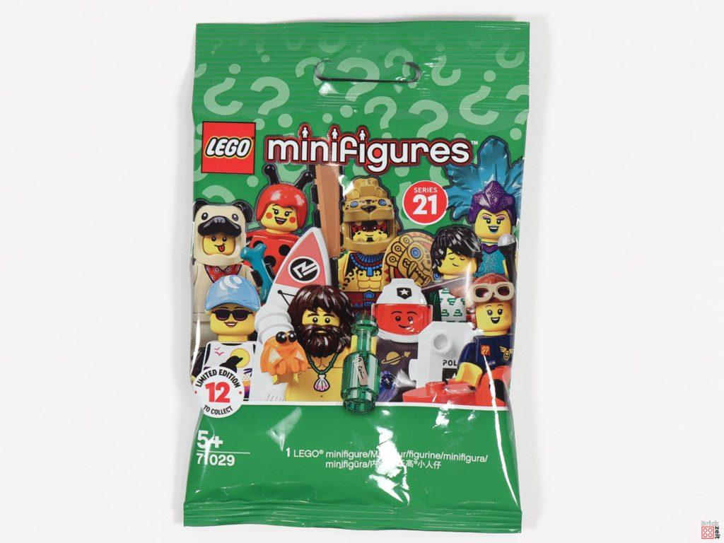 Überraschungstütchen der LEGO 71029 Minifiguren Serie 21 | ©Brickzeit