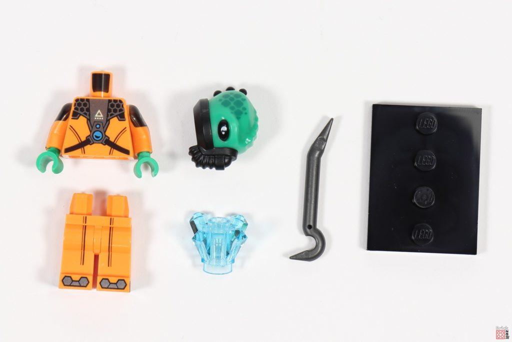 LEGO 71029 Minifigur 11, Alien-Bösewicht | ©Brickzeit