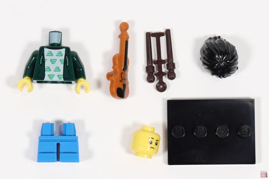 LEGO 71029 Minifigur 2, Junger Geigenspieler | ©Brickzeit