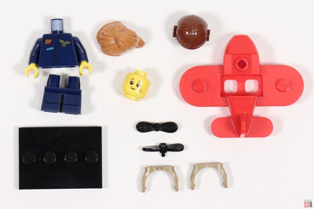 LEGO 71029 Minifigur 9, Flugzeug-Mädchen | ©Brickzeit