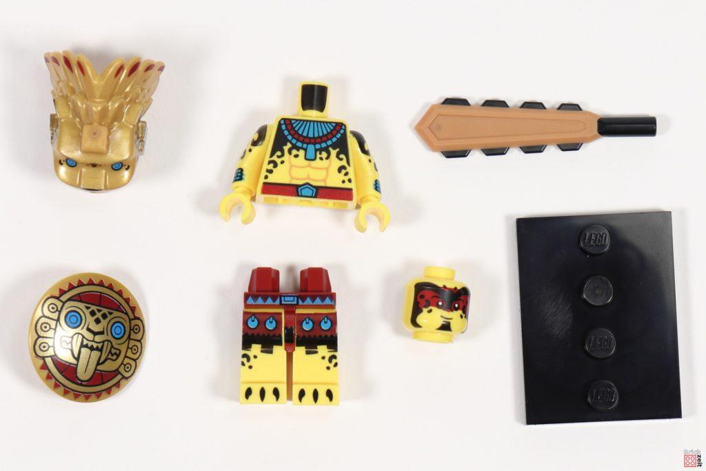 LEGO 71029 Minifigur 8, Stammeskämpfer | ©Brickzeit