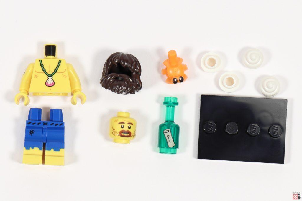 LEGO 71029 Minifigur 3, Schiffbrüchiger | ©Brickzeit