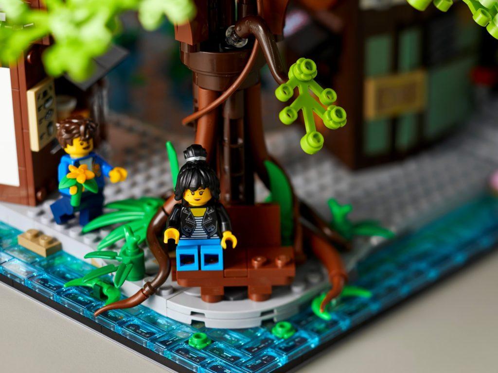 LEGO 71741 Die Gärten von NINJAGO City | ©LEGO Gruppe