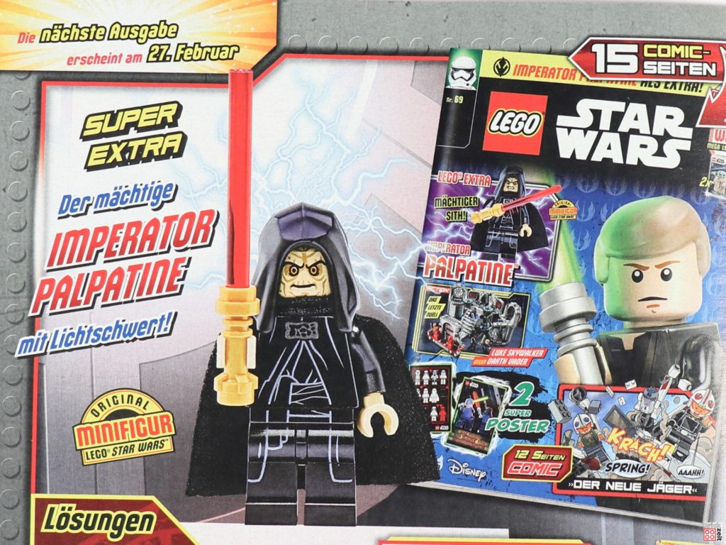 Heftvorschau LEGO Star Wars Magarzin Nr 69 | ©Brickzeit