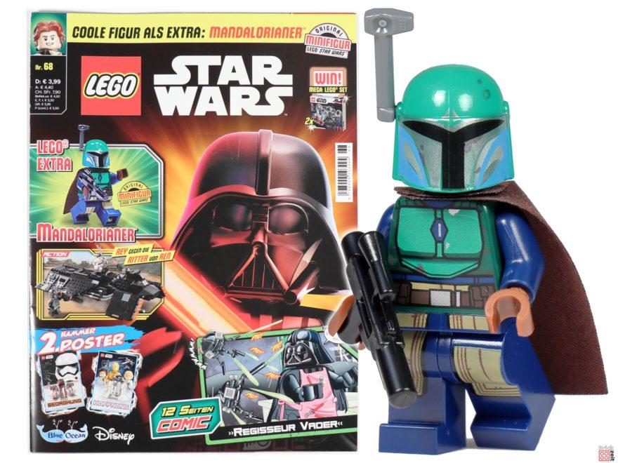 LEGO Star Wars Magazin Nr. 68 mit Mandalorianerin | ©Brickzeit
