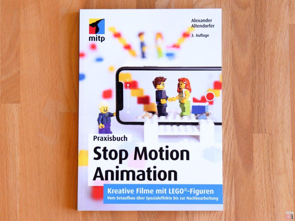 Buchcover vom Praxisbuch Stop Motion Animation 3. Auflage | ©Brickzeit