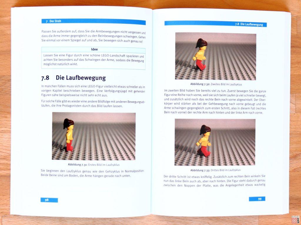 Erklärungen zum Walk-Cycle | ©Brickzeit