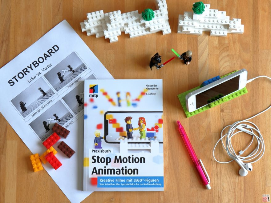 Rezension Praxibuch Stop Motion Animaton | ©Brickzeit