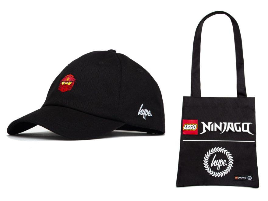 HYPE x LEGO Ninjago Tragetasche und Cap für Erwachsene im Prämiencenter verfügbar