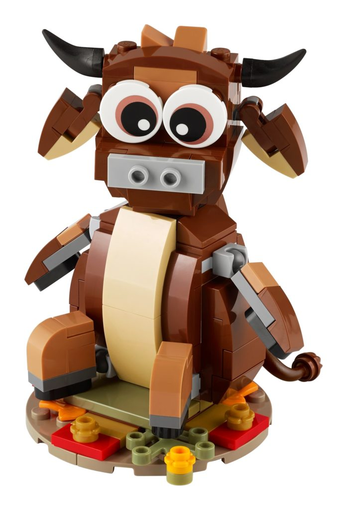 LEGO 40417 Jahr des Büffels | ©LEGO Gruppe