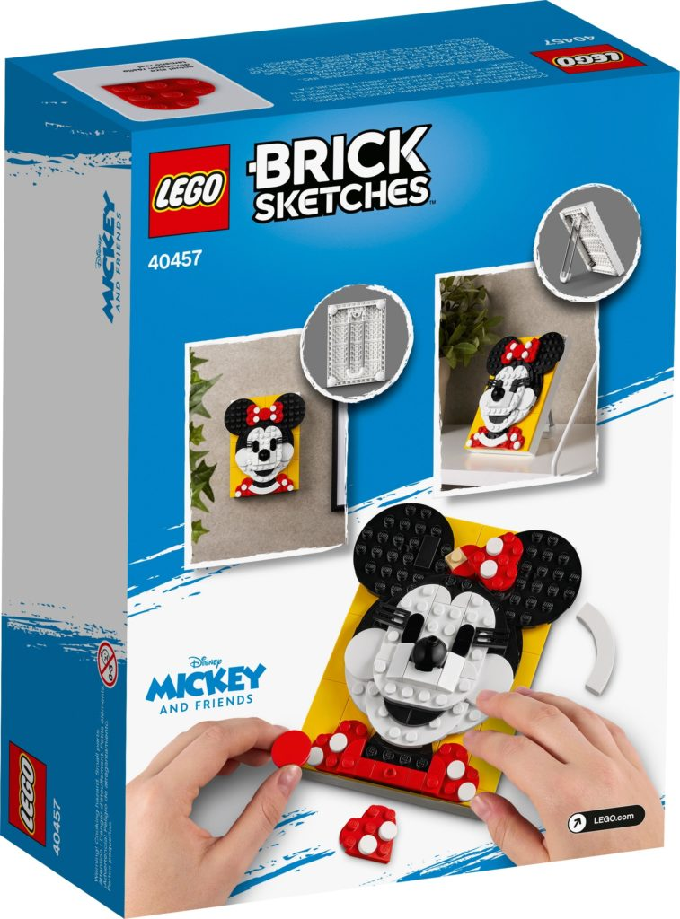 LEGO Brick Sketches 40457 Minnie Maus | ©LEGO Gruppe