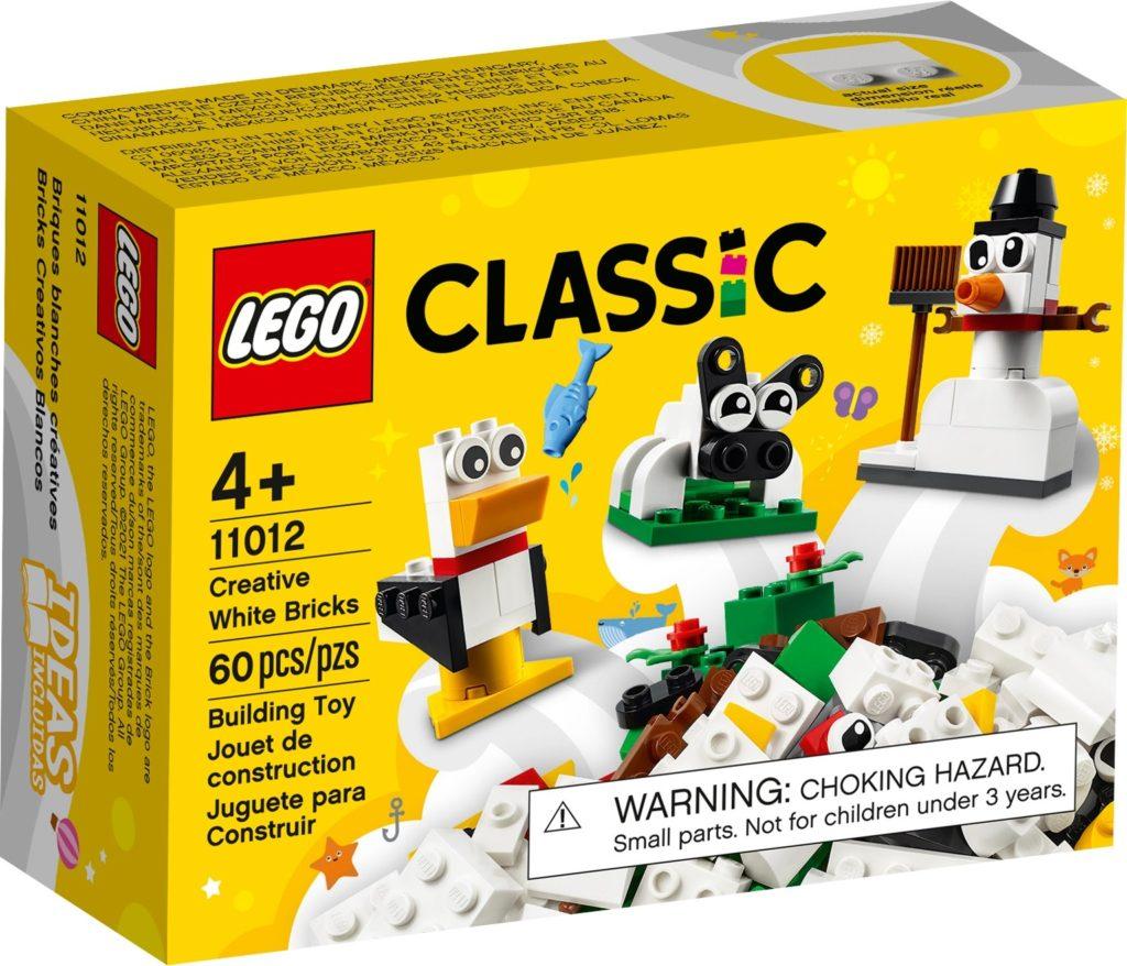 LEGO Classic 11012 Kreativ-Bauset mit weißen Steinen | ©LEGO Gruppe