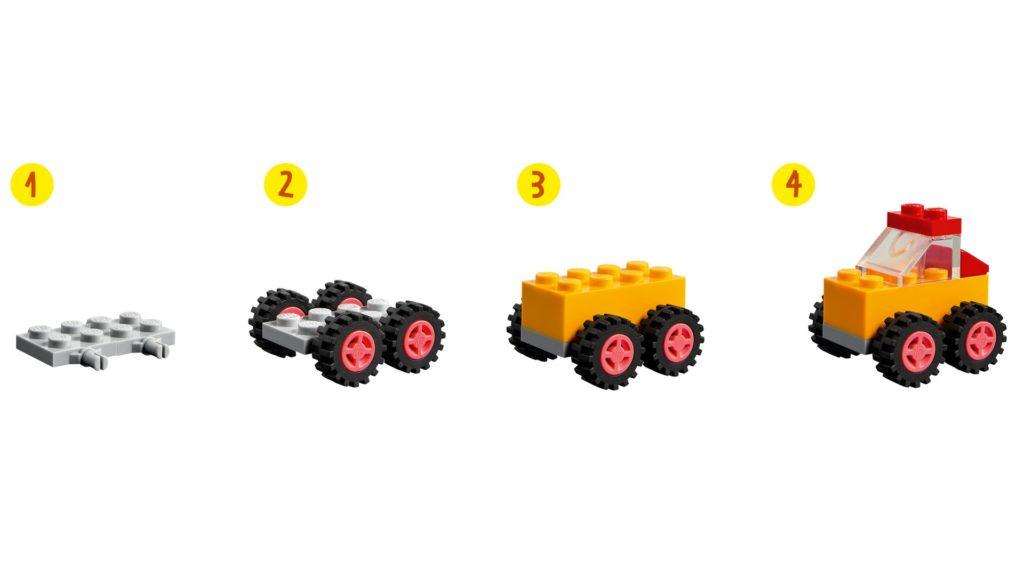 LEGO Classic 11014 Steinebox mit Rädern | ©LEGO Gruppe
