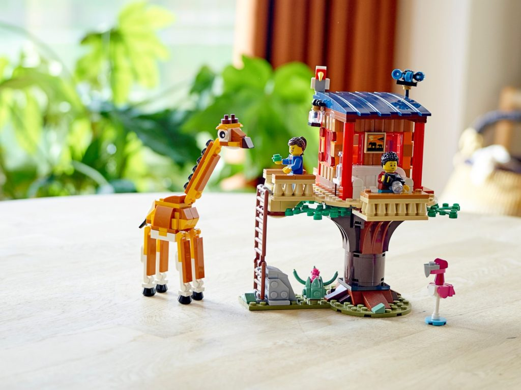 LEGO Creator 3-in-1 31116 Safari-Baumhaus | ©LEGO Gruppe