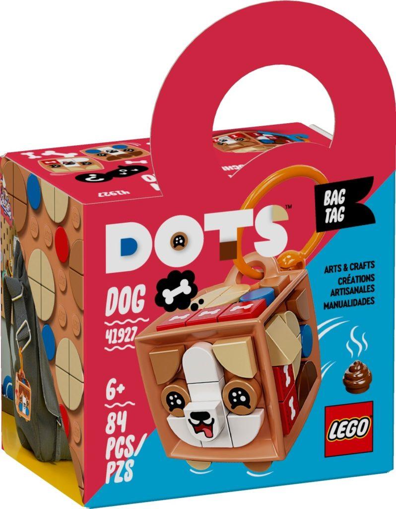 LEGO DOTS 41927 Taschenanhänger Hund | ©LEGO Gruppe