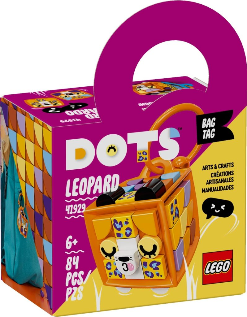 LEGO DOTS 41929 Taschenanhänger Leopard | ©LEGO Gruppe