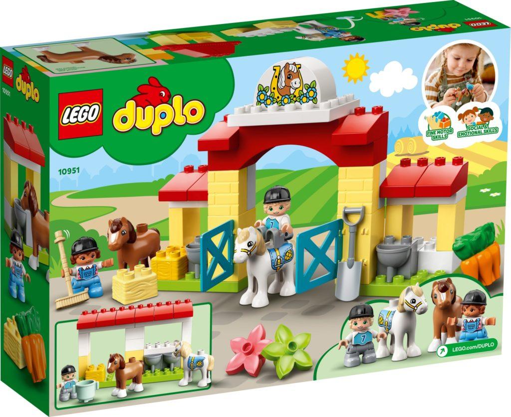 LEGO DUPLO 10951 Pferdestall und Ponypflege | ©LEGO Gruppe
