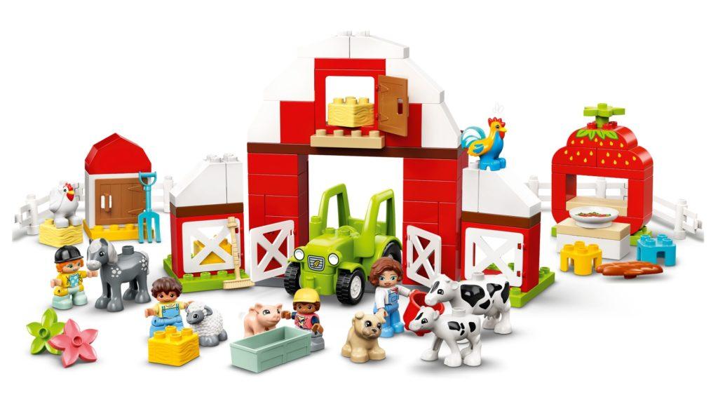 LEGO DUPLO 10952 Scheune, Traktor und Tierpflege | ©LEGO Gruppe