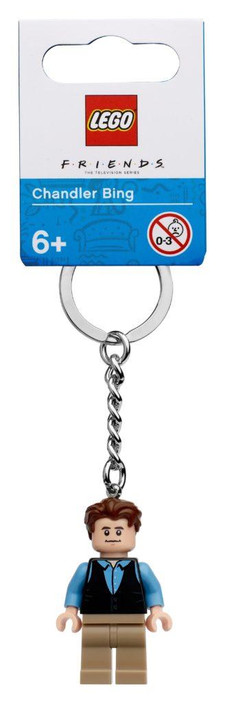 LEGO Ideas 854118 Schlüsselanhänger mit Chandler | ©LEGO Gruppe