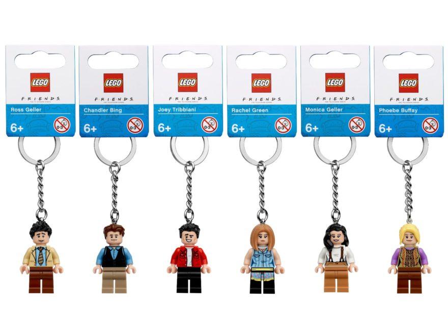 "LEGO IDEAS Schlüsselanhänger zur ""Friends"" Sitcom | ©LEGO Gruppe"