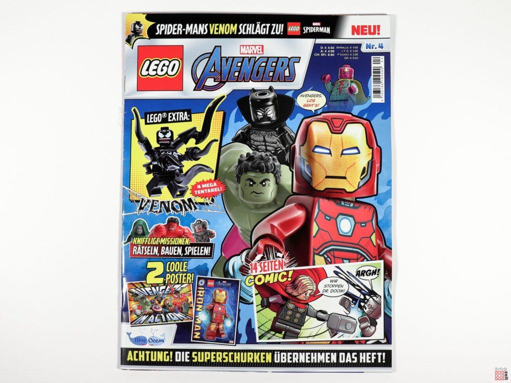 LEGO Marvel Avengers Magazin Nr. 4 - Cover | ©Brickzeit
