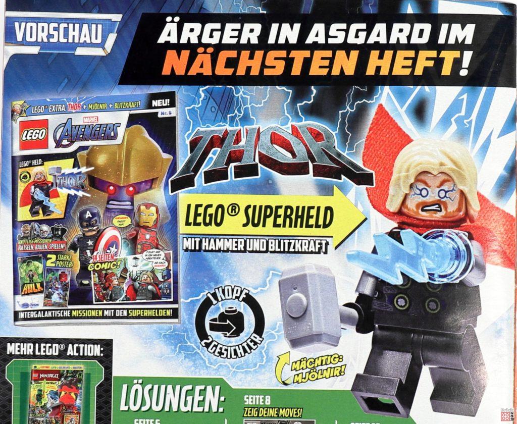 Heftvorschau LEGO Marvel Magazin Nr. 5 mit Thor | ©Brickzeit