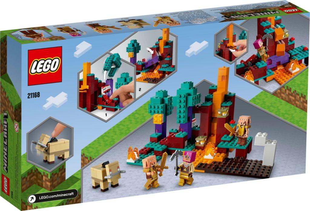 LEGO Minecraft 21168 Der Wirrwald | ©LEGO Gruppe