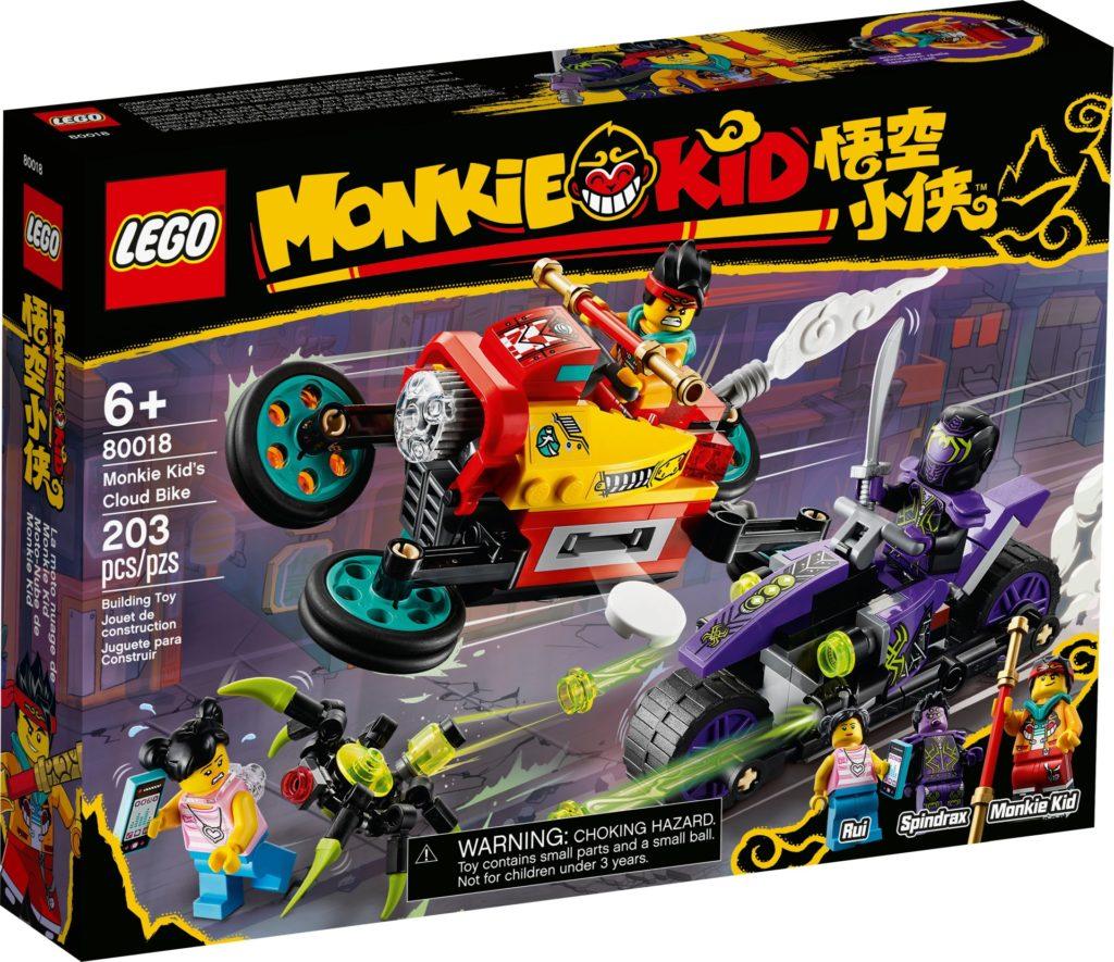 LEGO Monkie Kid 80018 Monkie Kids Wolken-Bike | ©LEGO Gruppe