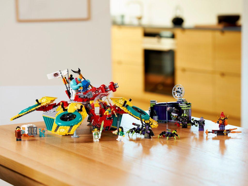 LEGO Monkie Kid 80023 Monkie Kids Hubschrauberdrohne | ©LEGO Gruppe