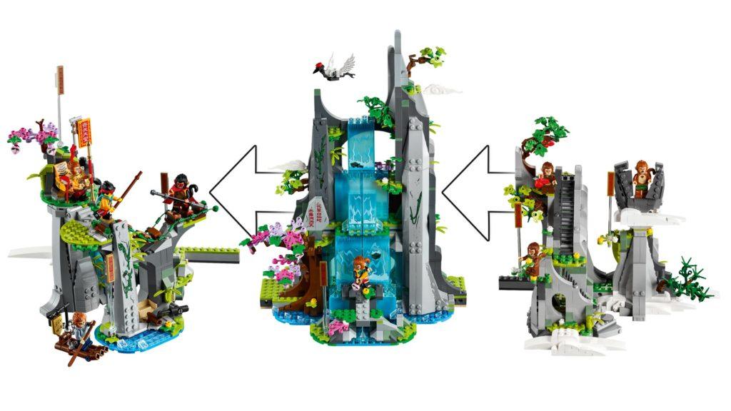 LEGO Monkie Kid 80024 Der legendäre Berg der Blumen und Früchte | ©LEGO Gruppe
