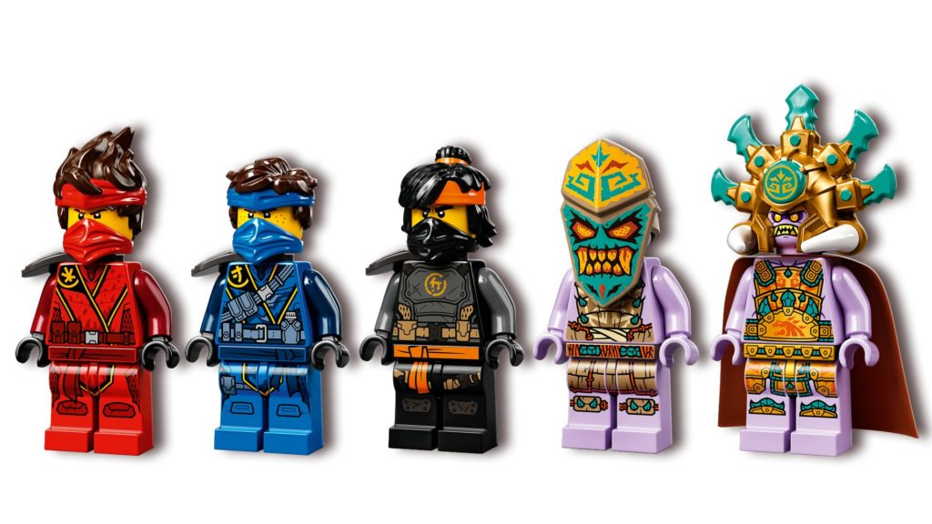 LEGO Ninjago 71747 Das Dorf der Wächter   ©LEGO Gruppe