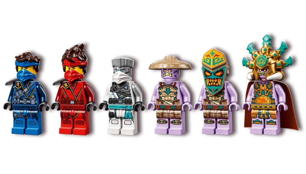 LEGO Ninjago 71748 Duell der Katamarane   ©LEGO Gruppe
