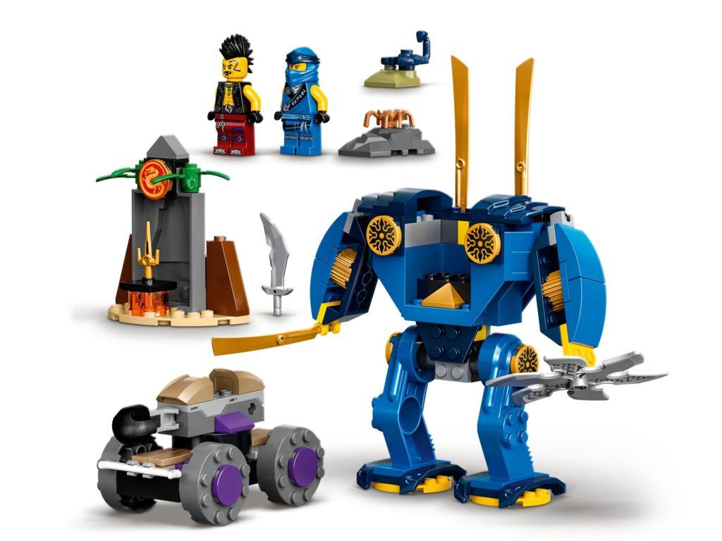 LEGO Ninjago 71740 Jays Elektro-Mech   ©LEGO Gruppe