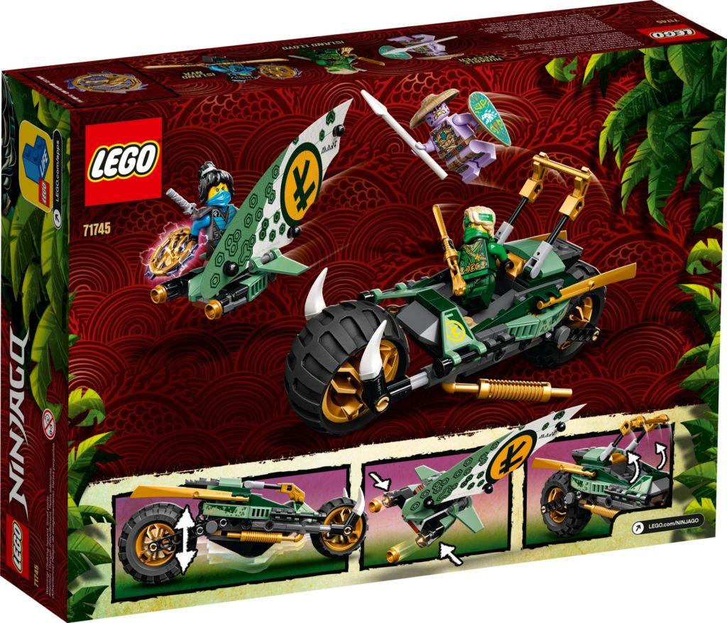 LEGO Ninjago 71745 Lloyds Dschungel-Bike   ©LEGO Gruppe