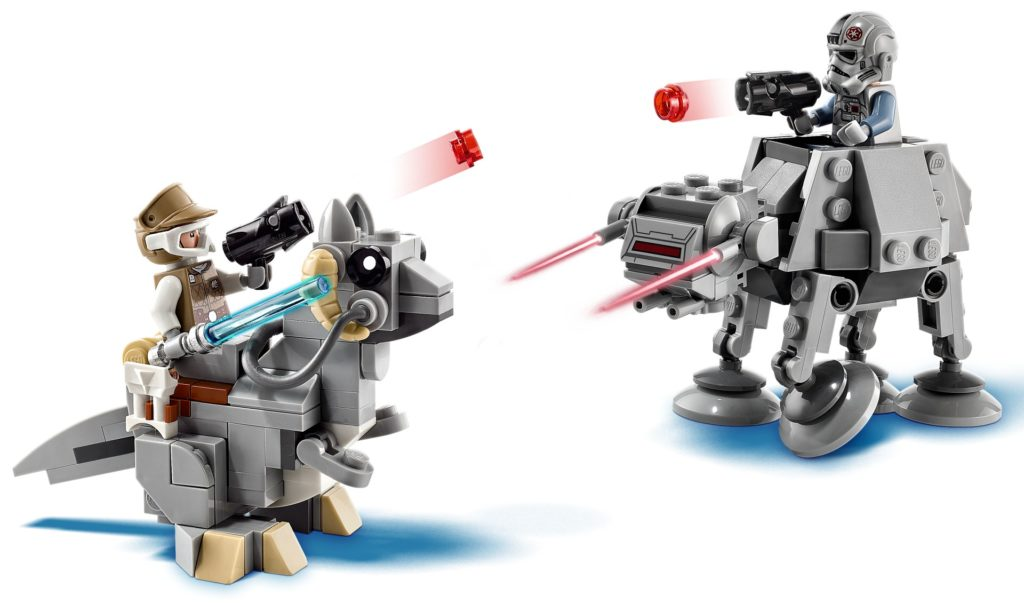 LEGO Star Wars 75298 AT-AT vs. Tauntaun Microfighters | ©LEGO Gruppe