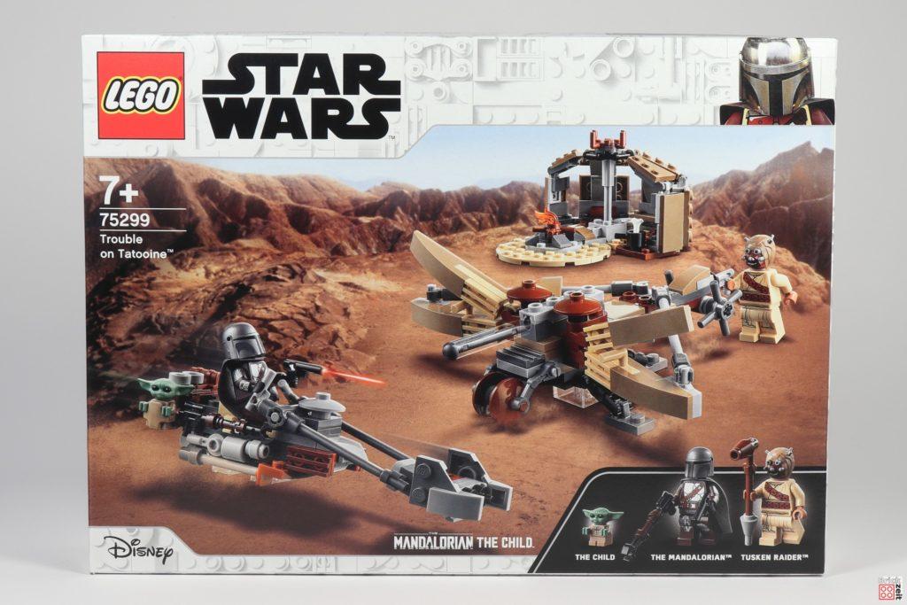 LEGO Star Wars 75299 Ärger auf Tatooine - Packung Vorderseite | ©Brickzeit