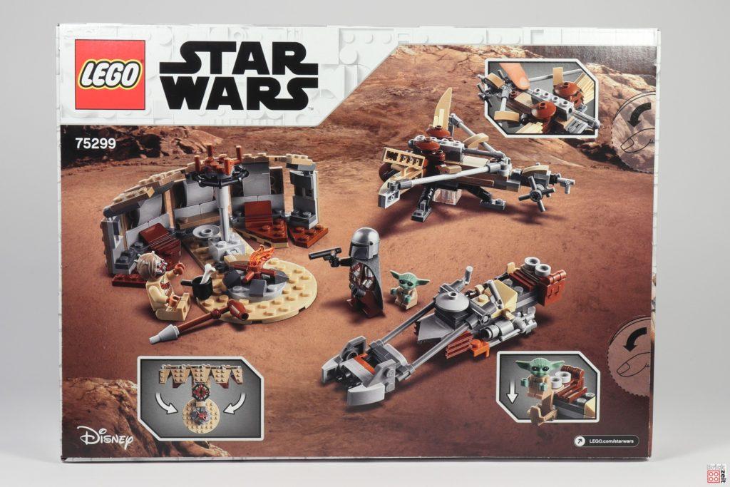 LEGO Star Wars 75299 Ärger auf Tatooine - Packung Rückseite | ©Brickzeit