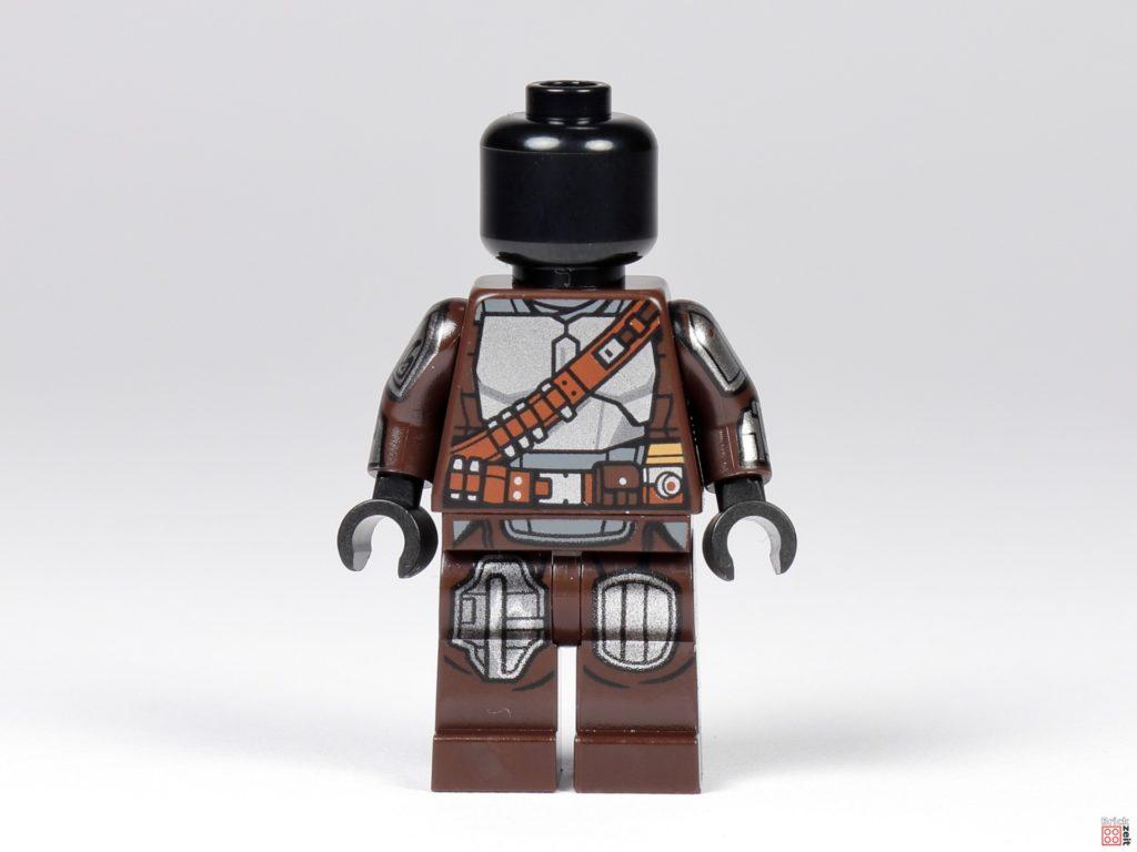 LEGO 75299 - Beskar-Mando ohne Zubehör, Vorderseite | ©Brickzeit