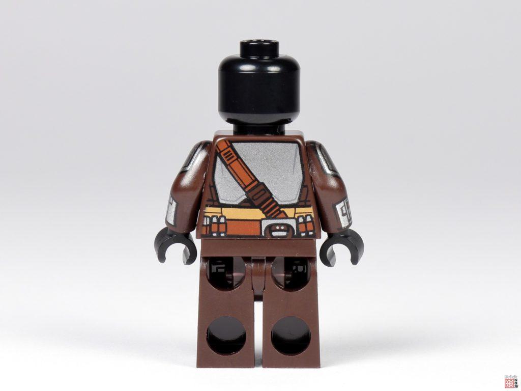 LEGO 75299 - Beskar-Mando ohne Zubehör, Rückseite | ©Brickzeit