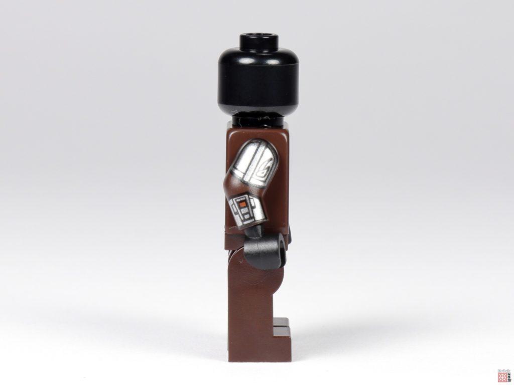 LEGO 75299 - Beskar-Mando ohne Zubehör, rechte Seite mit Schlammhorn | ©Brickzeit