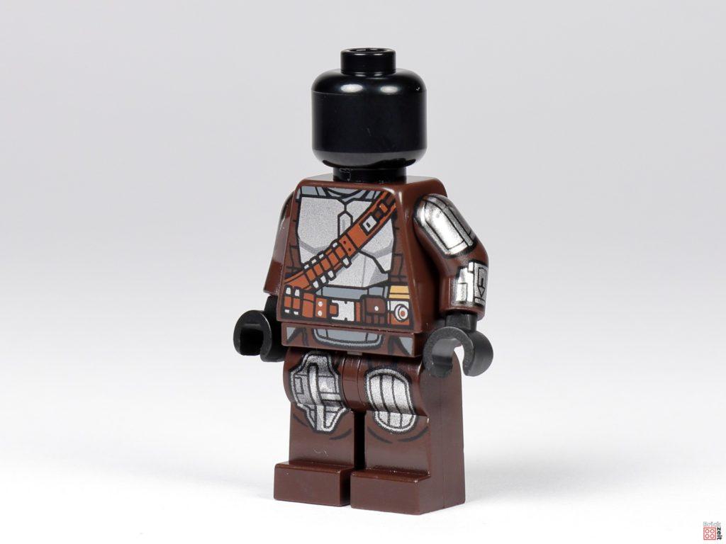 LEGO 75299 - Beskar-Mando ohne Zubehör, vorne links | ©Brickzeit