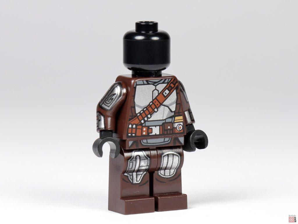 LEGO 75299 - Beskar-Mando ohne Zubehör, vorne rechts | ©Brickzeit