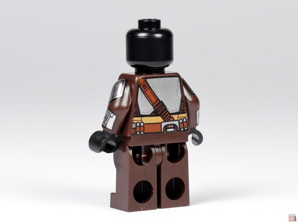 LEGO 75299 - Beskar-Mando ohne Zubehör, hinten links | ©Brickzeit