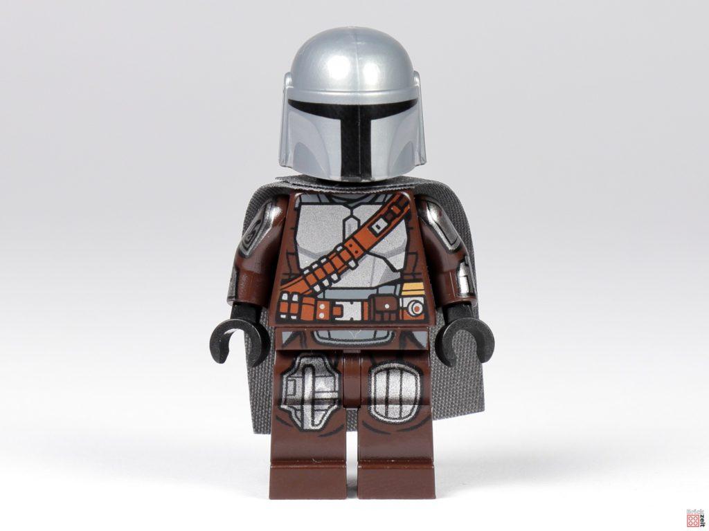 LEGO 75299 - Der Mandalorianer in Beskar-Rüstung, Vorderseite | ©Brickzeit