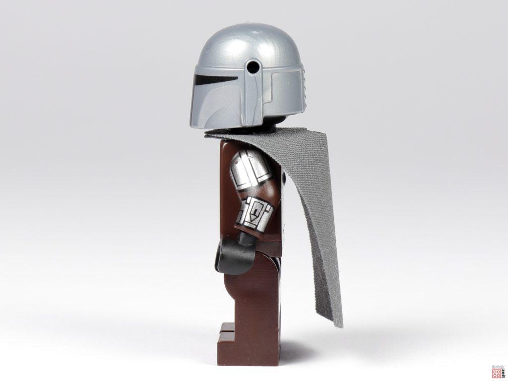LEGO 75299 - Der Mandalorianer in Beskar-Rüstung, linke Seite | ©Brickzeit