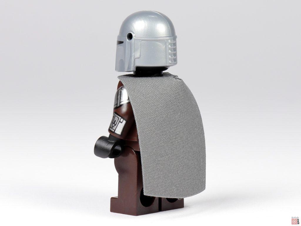 LEGO 75299 - Der Mandalorianer in Beskar-Rüstung, hinten links | ©Brickzeit